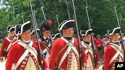 More than 1,500 costumed interpreters and re-enactors roam the streets of colonial Williamsburg every day.