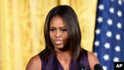 Ibu negara Amerika Serikat, Michelle Obama (Foto: dok).
