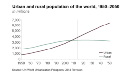 Urban and Rural Populations