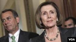 Los líderes en el Congreso, el republicano John Boehner y la representante Nancy Pelosi, encontrados por fallo de la Corte.