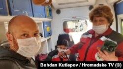 Журналіст Громадського телебачення Богдан Кутєпов