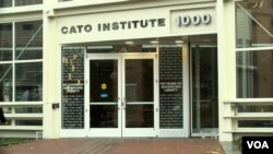 The Cato Institute is one of hundreds of think tanks in Washington, DC.