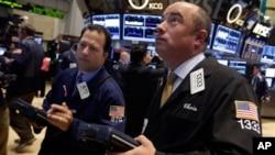 紐約股票交易市場9月16日股市開始上漲股票經紀緊張關注螢幕