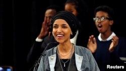 Temsilciler Meclisi üyesi seçilen Somali kökenli Amerikalı müslüman kadın İlhan Omar