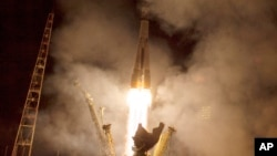 Запуск Союз ТМА-14м с космодрома Байконур к МКСБ 26 сентября 2014.