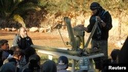 Pripadnici slobodne sirijske armije