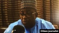 Gwamnan Bauchi M.A. Abubakar wanda yake cikin wata takunsaka da 'yan majalisun tarayya da ke wakiltar jihar