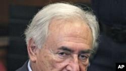 前任国际货币基金总裁斯特劳斯.卡恩(资料照)