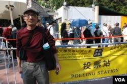 參與元旦民間全民投票的梁先生表示,很多移民加拿大的港人仍然很關心香港