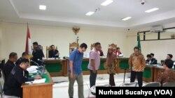 Sidang kasus suap jaksa di Yogyakarta menghadirkan lima saksi pada Rabu (15/1).