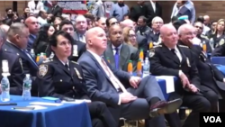 إفطار ڈنر میں نیو یارک کی مسلم اور دیگر کمیونٹیز کی نمایاں شخصیات، انتخابی امیدواران اور نیویارک پولیس چیف سمیت اعلٰی افسران شریک ہوئے۔