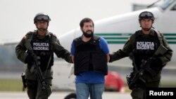 Daniel 'El Loco' Barrera fue capturado en Venezuela en septiembre de 2012.