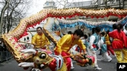 中国人民喜迎春节
