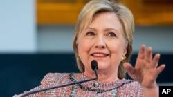 Hillary Clinton ta jam'iyyar Democrat