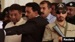 پرویز مشرف راولپنڈی کی عدالت میں پیشی کے بعد
