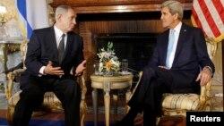 Биньямин Нетаньяху и Джон Керри