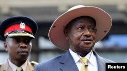 Uganda's President Yoweri Museveni, November 30, 2012.