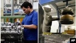 Keberhasilan memadukan teknologi canggih ke dalam proses produksi membuat manufaktur Amerika kembali dapat memperluas jangkauannya. (Foto: dok).