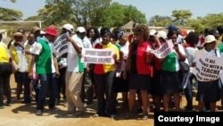 FILE: Some members of the Zimbabwe Teachers Association. (Photo: ZIMTA)