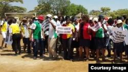 FILE: Ababalisi abake bakhalala umsebenzi batshengisela emigwaqweni. (Photo: ZIMTA)