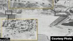 Rusya'nın Ukrayna içlerindeki askeri faaliyetlerini gösteren uydu fotoğrafı