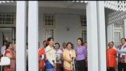 2012-04-09 粵語新聞: 緬甸克倫族代表團會見昂山素姬