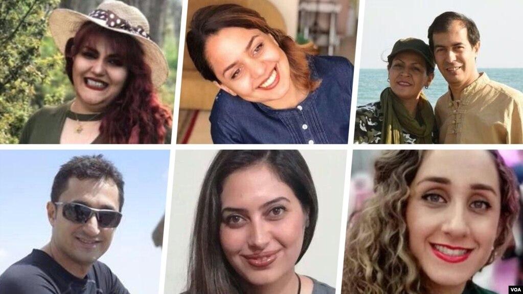 چند تن از بهائیان شیراز که به زندان محکوم شدهاند