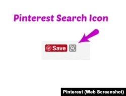 Pinterest Search Icon