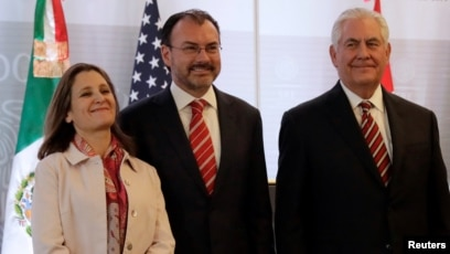 Tillerson in Mexico