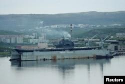 """Російський авіаносець """"Адмірал Кузнєцов"""""""