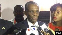André Mendes de Carvalho, presidente da coligação