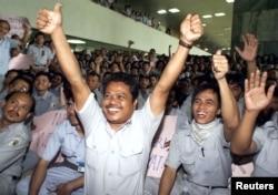 Para aparatur sipil negara (ASN) dalam sebuah acara di Jakarta (foto: ilustrasi).