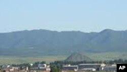 함경북도 온성 마을 전경(자료사진)