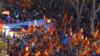 Сотні тисяч прихильників об'єднаної Іспанії вийшли на мітинг у Барселоні