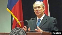 Gubernur baru negara bagian Texas, Greg Abbott (Foto: dok).