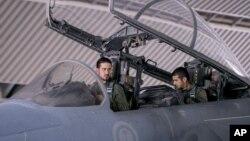 사우디 공군 소속 전투기 조종사들. (자료사진)