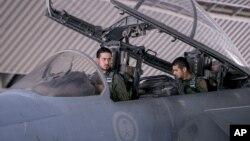 参加沙特领导的联军行动的沙特飞行员