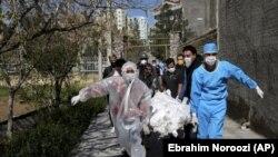 Termê qurbanîyekî korona li Tehranê (Adar 3 2020)