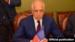 Cпециальный представитель США по политическому примирению в Афганистане Залмай Халилзад (архивное фото)