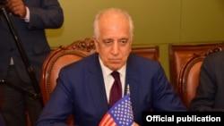 امریکہ کے نمائندۂ خصوصی برائے افغام مفاہمت زلمے خلیل زاد (فائل فوٹو)