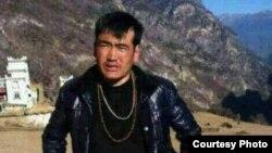 甘孜州道孚县自焚藏人丹增嘉措 (藏人行政中央官方网图片)