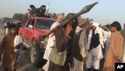 نیروهای طالبان در ننگرهار