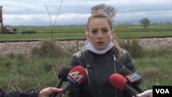 Jovana Filipović, advokatica i meštanka sela Kuzmin