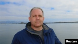 FILE - Paul Whelan, a U.S. citizen detained in Russia for suspected spying, appears in a photo provided by the Whelan family Jan. 1, 2019. Whelan holds several other citizenships.