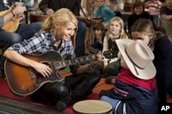 Gwyneth Paltrow in scene from COUNTRY STRONG