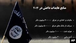عواید عمدۀ داعش