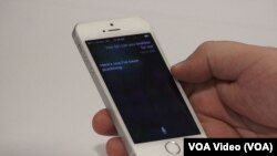 Siri shows off her 'beatbox' trick