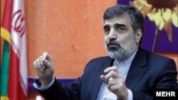 بهروز کمالوندی سخنگوی سازمان انرژی اتمی ایران - آرشیو