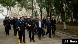2019年1月15日美國海軍作戰部長(CNO)理查森上將訪問南京的中國海軍指揮學院進行圓桌討論,強調全球合法安全行動的重要性。