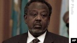 Le Président djiboutien Ismael Omar Guelleh au sommet des pays de l'IGAD à Addis Ababa, le 14 Juin 2008.